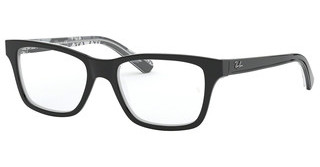 Ray-Ban Junior RY1536 3803 BLACK ON TEXTURE GREY BLACK