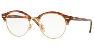 Ray-Ban RX4246V 5751 BROWN/BEIGE STRIPPED