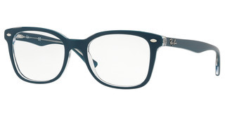 Ray-Ban RX5285 5763 TOP TURQUOISE ON TRASPARENT