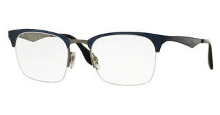 Ray-Ban RX6360 2863 TOP SHINY BLUE ON GUNMETAL