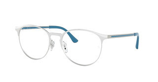 Ray-Ban RX6375 2948 SILVER TOP ON WHITE