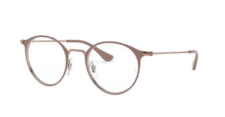 Ray-Ban RX6378 2973 COPPER ON TOP LIGHT BROWN