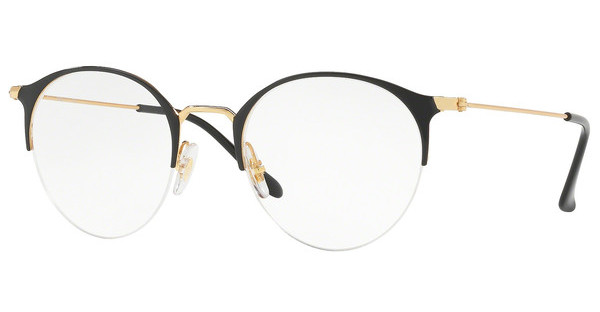 Ray-Ban   RX3578V 2890 GOLD TOP SHINY BLACK
