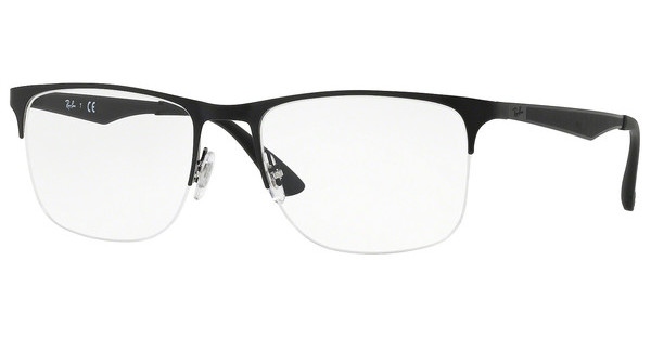 Ray-Ban   RX6362 2861 SILVER/TOP SHINY BLACK