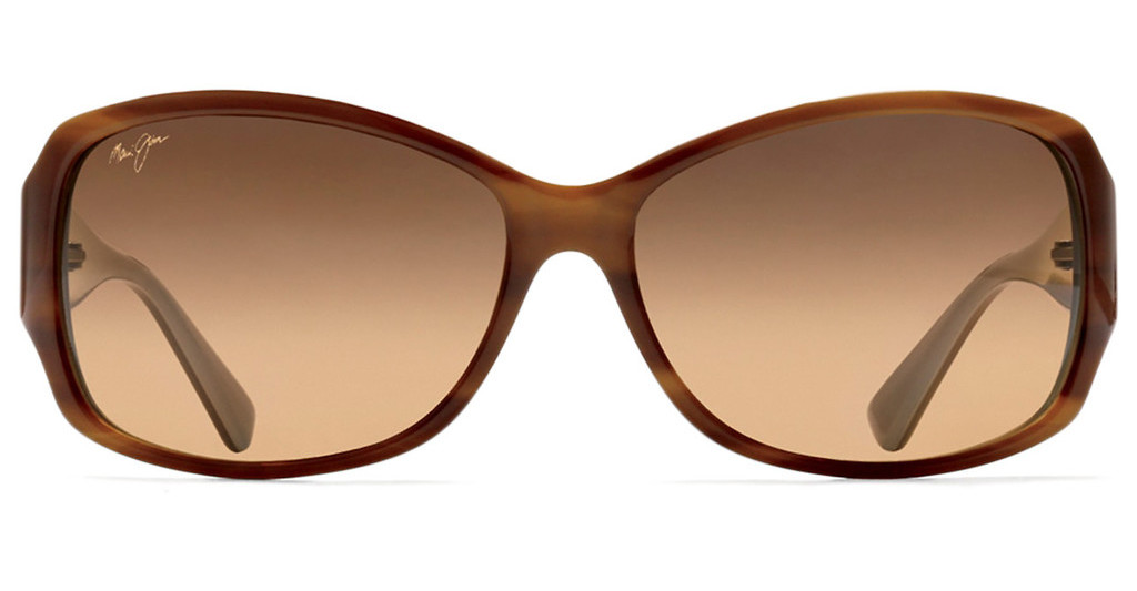 Maui Jim   Nalani HS295-03T HCL BronzeTortoise with White and Blue