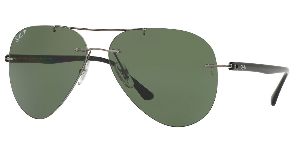 Ray-Ban   RB8058 004/9A POLAR GREENGUNMETAL