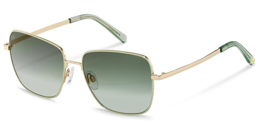 Rocco by Rodenstock   RR109 C light green, light gold