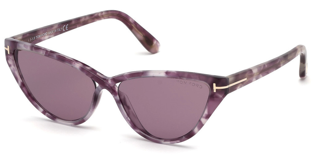 Tom Ford   FT0740 55Y violetthavanna bunt
