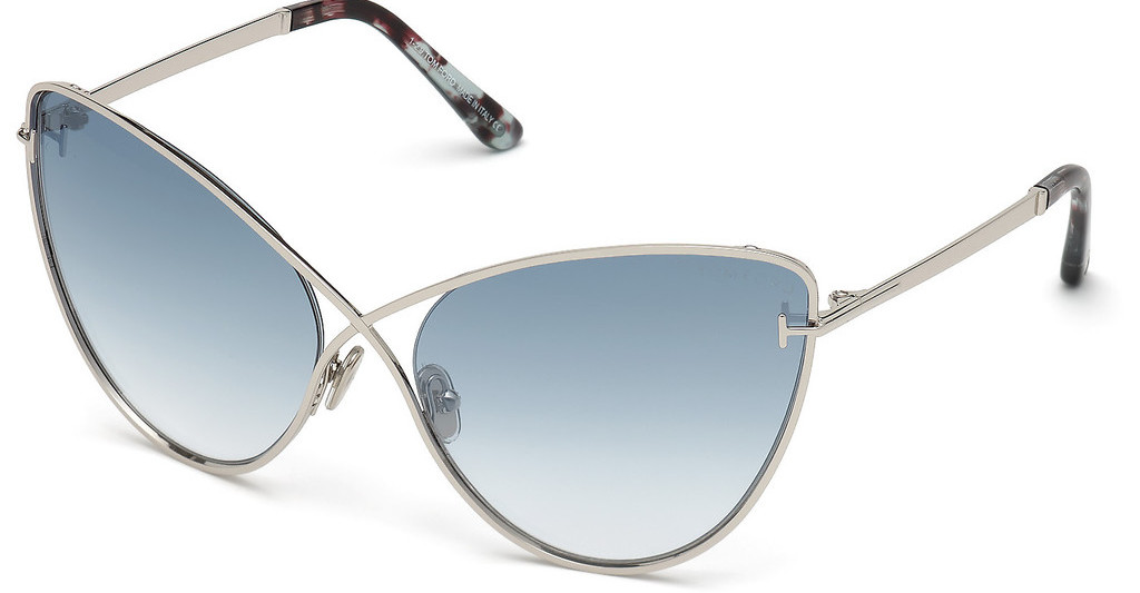Tom Ford   FT0786 16X blau verspiegeltpalladium glanz