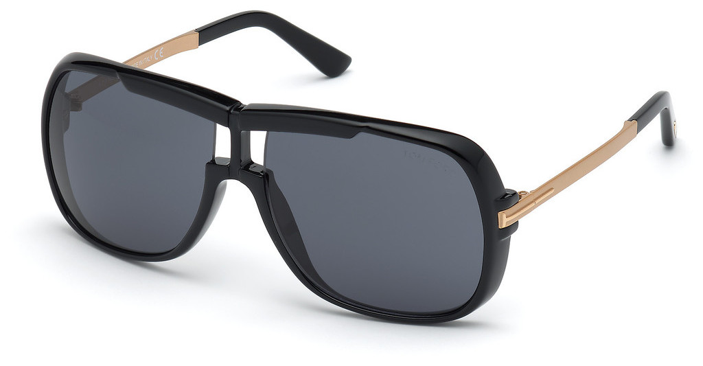 Tom Ford   FT0800 01A grauschwarz glanz