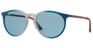 Ray-Ban RB4274 6365F7 LIGHT BLUE EXTERNAL AVGRAD BLUE/RUBBER LT GREY TR