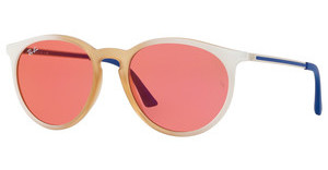 Ray-Ban RB4274 6367C8 PINK MIRROR REDGRAD WHITE/RUBBER LT PINK TR