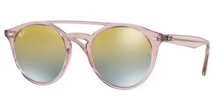 Ray-Ban RB4279 6279A7 GREEN MIRROR SILVER GRAD GOLDPINK