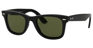 Ray-Ban RB4340 601/58 GREEN POLARIZEDBLACK