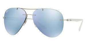 Ray-Ban RB8058 003/30 FLASH GREYSILVER