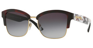Burberry BE4265 37248G GREY GRADIENTRED HAVANA/LIGHT GOLD