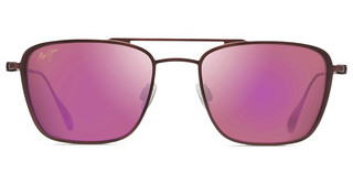 Maui Jim Ebb & Flow P542-07M MAUI SunriseMatte Brushed Burgundy