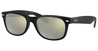 Ray-Ban RB2132 622/30 GREEN MIRROR SILVERRUBBER BLACK