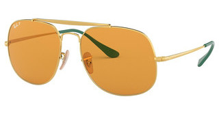 Ray-Ban RB3561 9105N9 YELLOW POLARGOLD