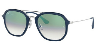 Ray-Ban RB4273 63343A CLEAR GRADIENT GREENBLUE