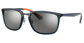 Ray-Ban RB4303 636488 GREY MIRROR SILVER GRADIENTTRASPARENT DARK BLUE