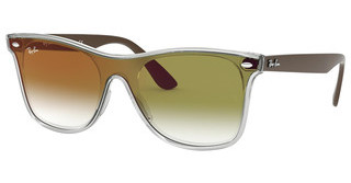 Ray-Ban RB4440N 6358W0 CLEAR GRADIENT GREEN MIRROR REMATTE TRASPARENT