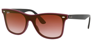 Ray-Ban RB4440N 64180T CLEAR GRAD BORDEAUX GRAD BROWNBORDEAUX DEMISHINY
