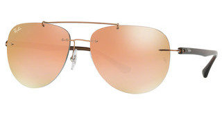 Ray-Ban RB8059 155/B9 GREEN GRAD BROWN MIRROR PINKCOPPER