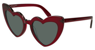 Saint Laurent SL 181 LOULOU 004 GREENBURGUNDY