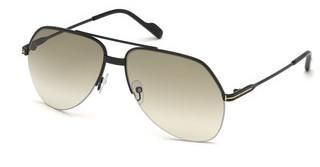 Tom Ford FT0644 01A grauschwarz glanz