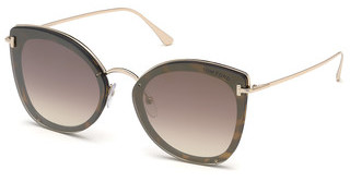 Tom Ford FT0657 52G braun verspiegelthavanna dunkel