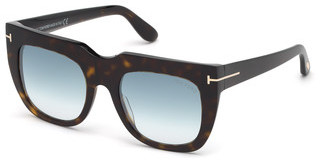 Tom Ford FT0687 52X blau verspiegelthavanna dunkel
