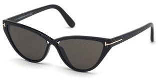 Tom Ford FT0740 01A grauschwarz glanz