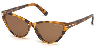 Tom Ford FT0740 55E braunhavanna bunt