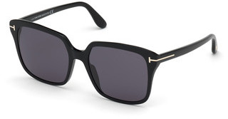 Tom Ford FT0788 01A grauschwarz glanz