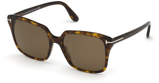 Tom Ford FT0788 52H braun polarisierendhavanna dunkel