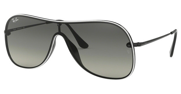 Ray-Ban   RB4311N 629911 GREY GRADIENT DARK GREYBLACK ON TOP WHITE